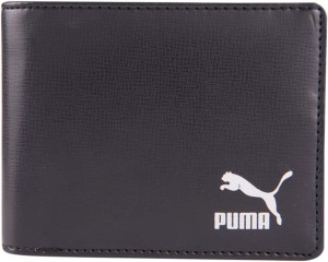 Puma Men Black Artificial Leather Wallet