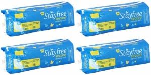 Stayfree Secure Sanitary Pad Sanitary Pad ( Pack of 4 )