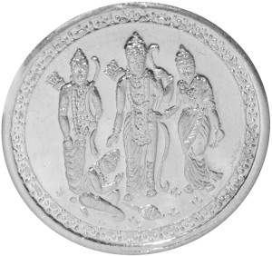 Kataria Jewellers Ram Darbaar S 999 10 g Silver Coin