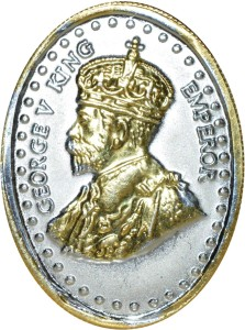 Kataria Jewellers George King V S 999 10 g Silver Coin