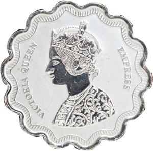 Kataria Jewellers Victoria Queen S 999 10 g Silver Coin
