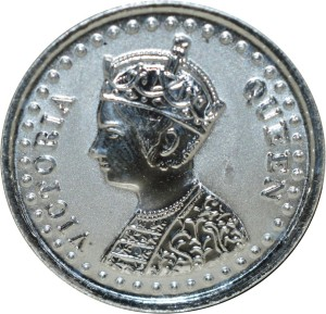 Kataria Jewellers Victoria Queen Empress S 999 2 g Silver Coin