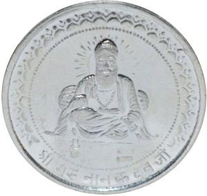 Kataria Jewellers Guru Nanak Dev Ji S 999 10 g Silver Coin