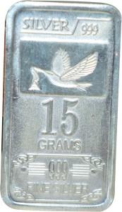 Kataria Jewellers Fine Silver S 999 15 g Silver Bar