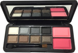 M.A.C PROFESSIONAL HALSEY SERIES 8 EYESHADOWS 2 COLOR BLUSHER
