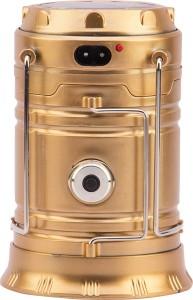 AAVAHAN LED Solar Light Lantern + USB Mobile Charging+Torch point, 2 Power Source Solar, Lithium Battery, Travel Camping Lantern - Multi Table Lamp