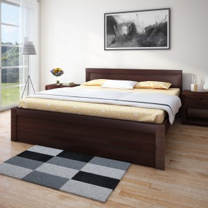 HomeTown Dazzle without Storage Engineered Wood Queen Bed
