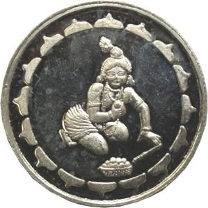 Kataria Jewellers Bal Krishna S 999 10 g Silver Coin