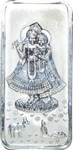 Kataria Jewellers Radha Krishna S 999 50 g Silver Bar