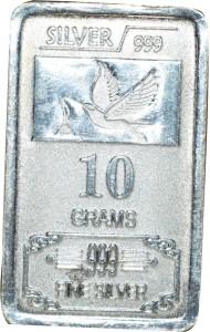 Kataria Jewellers Fine Silver S 999 10 g Silver Bar