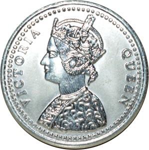 Kataria Jewellers Victoria Queen S 999 20 g Silver Coin