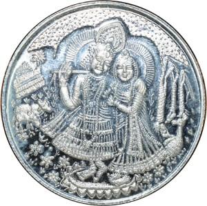 Kataria Jewellers Radha Krishna S 999 20 g Silver Coin