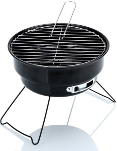 Sukot Portable Charcoal Grill BBQ Barbecue For Garden Picnic Party Camping Indoor & outdoor Color ( Blue Red Or Black ) Any color Dispatched Iron Roast Fork, Salad Fork