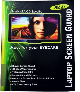 ALU Screen Guard for APPLE MACBOOK PRO 15 MODEL A1260 Pack of 1