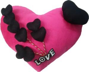 Aparshi Cutiepie heart stuffed cushion soft toy 4DK12  - 85 cm