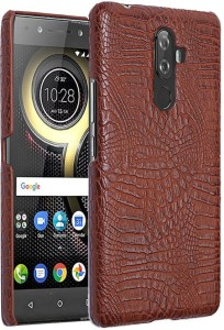 Excelsior Back Cover for Lenovo K8 NoteCoffee, Leather