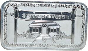 Kataria Jewellers Grihapravesh S 999 10 g Silver Bar