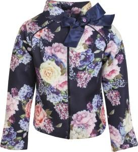 88180c134593 Cutecumber Full Sleeve Floral Print Girl s Jacket Best Price in ...