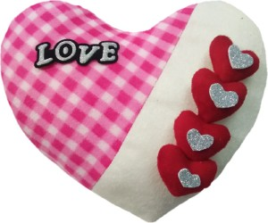 Aparshi Adorable heart stuffed cushion soft toy 4DH5  - 50 cm