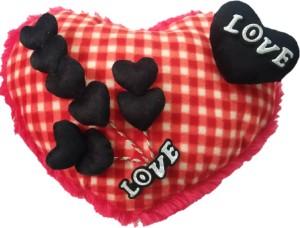 Aparshi Cutiepie heart stuffed cushion soft toy 4DP13  - 90 cm