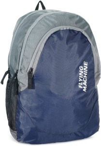f52914f674ff Flying Machine LAPTOP BAGS 15 L Backpack Grey Best Price in India ...