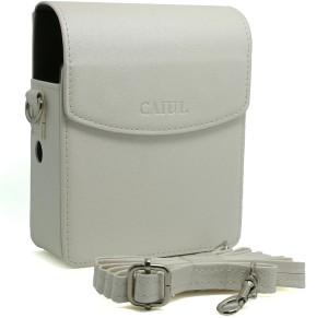 Caiul PU Leather Instax Share Smartphone Printer Sp-1 Case (White)  Camera Bag