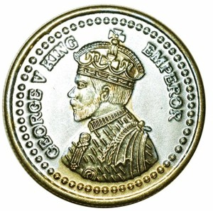 Kataria Jewellers George King S 999 10 g Silver Coin