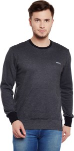 GHPC Full Sleeve Solid Men's Sweatshirt