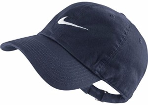 Nike Solid Navy Blue Swoosh Cap 7b98ed61d7f6