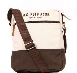 d8f450c42ad5 U S Polo Assn Messenger Bag Beige 4 L Best Price in India