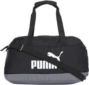 7c36d58284 Puma Phase Sport Bag Travel Duffel Bag ( Black )