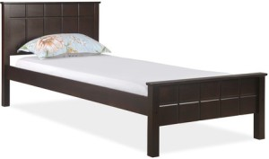 @home by Nilkamal Cipher Solid Wood Single Bed