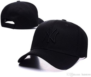 863c2f16213 Babji NY Black Embroidered New York Yankees Snapback Baseball Cap ...