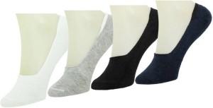Brandvilla Men & Women Solid No Show Socks, Ultra Low Cut Socks, Low Cut Socks, Quarter Length Socks, Ankle Length Socks, Mid-calf Length Socks, Over-the-Calf Length Socks