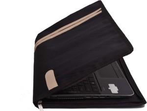 HOC Zipper 15.6-inch Laptop Stylist Premium Sleeve for Apple, Dell, Lenovo, HP, Acer, Asus, Samsung Laptops Laptop Bag