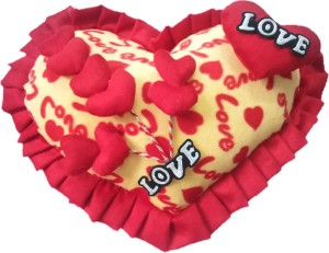 Aparshi (Combo pack of 5) Valentine heart cushion stuffed soft toy 4DCc32  - 81 cm