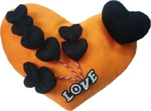 Aparshi Adorable heart stuffed cushion soft toy 4DEe8  - 65 cm