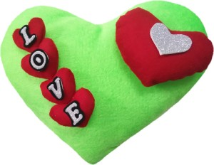 Aparshi Smarty heart stuffed cushion soft toy 4DPp14  - 95 cm