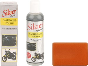 Silver Shine Dashboard Polish For Cars & Other Vehicles Multipurpose Vehicle Interior Cleaner