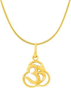 Rsbl designer om pendant 22kt yellow gold pendant yellow gold plated rsbl designer om pendant 22kt yellow gold pendant aloadofball Gallery