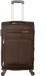 JOURNEY9 IGNITE PLUS 65 BROWN Expandable  Check-in Luggage - 24 Inches