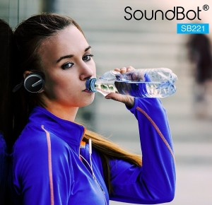 1d9cff048f6 SoundBot SB221 Black Wireless Bluetooth Headset with MicBlack, Over the Ear