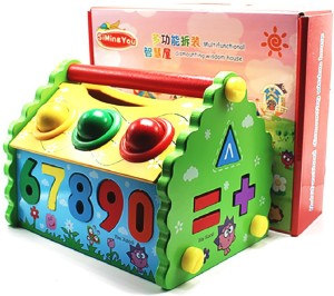 Jack Royal Kids Learning Toy - House of Math & NumbersMulticolor