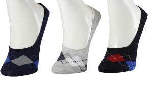 hicode Men & Women Solid No Show Socks