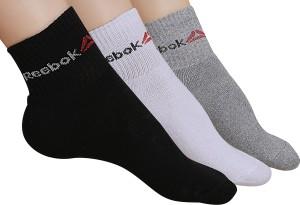 Reebok Men & Women Solid Ankle Length Socks