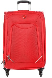 emblem Marshall 24Inch Red Trolley Expandable  Check-in Luggage - 24 Inches