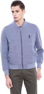 U.S. Polo Assn. Full Sleeve Solid Men Sweatshirt