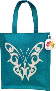 GREAN BUTTERFLY PATTERN Waterproof Lunch Bag