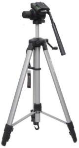 Mezire 105 Cm Long Stand - Super Light Tripod Kit (Black, Silver, Supports Up to 1000 g) Tripod