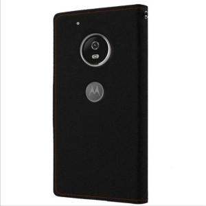 Wristlet Flip Cover for Motorola Moto E4 Plus
